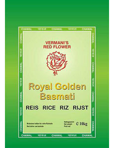 Golden Basmati Rice bag